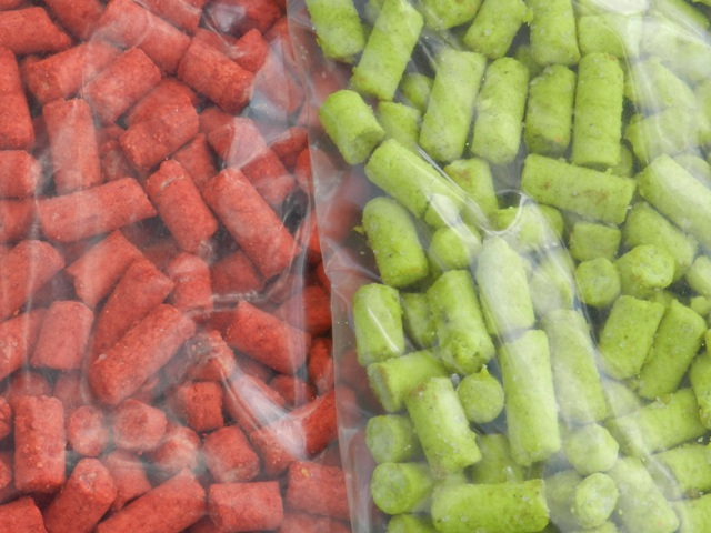 PVA method feeder pelety-colors 1Kg